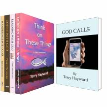 JOURNEYS WITH GOD 5 Bookset - CHRISTMAS WHOLESALE SPECIAL 40% OFF!