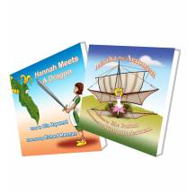 CHRISTMAS WHOLESALE SPECIAL - MARTHA THE AERONAUT and HANNAH MEETS A DRAGON - 2 Book Set 39% OFF