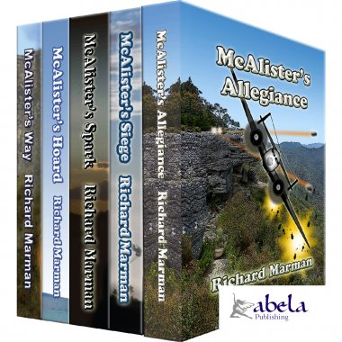 The McALISTER LINE Series - 5 Bookset with FREE SHIPPING