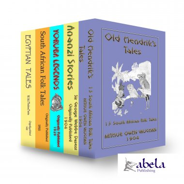 LEGENDS OF AFRICA 5 Book Giftset - CHRISTMAS WHOLESALE SPECIAL 37% OFF