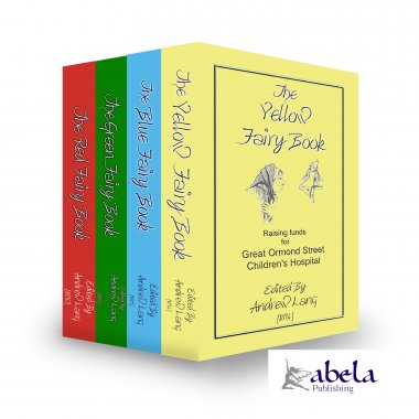 Andrew Lang's Coloured Fairy Tales 4 Book Set