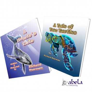 Two Childrens Stories from the Great Barrier Reef GIFT SET 39% OFF - CHILDREN'S CHRISTMAS WHOLESALE EARLY BIRD SPECIAL
